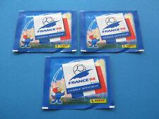 PANINI France 98 - 3 OVP Tüten WM 1998 Neu & Rar