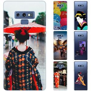 Dessana Geisha Japan Silicone Protective Cover Phone Case for Samsung Galaxy