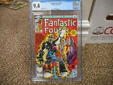 Fantastic Four 229 cgc 9.4 Marvel 1981 NM MINT WHITE pg Thing movie Seeker cover