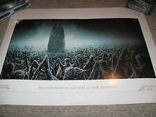 DEAD SPACE Necromorphs Gather Marker Limited Edition Lithograph Art Print #54