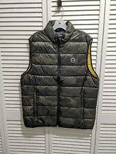 NWT Abercrombie & Fitch A&F Mens Lightweight Packable Puffer Vest L Camo