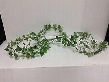 Artificial floral arrangement 9' Green Ivy Garland greenery Leaves vine plant