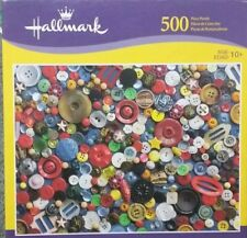 Hallmark 500 piece Jigsaw puzzle Collection of Buttons