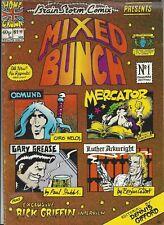 Brain Storm Comix #3- Mixed Bunch (UK, Winter 1976) Talbot, Emerson, Welch VG/FN