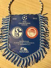 Uefa Champions League Schalke Vs Olympiacos Banner Saison 2012/13
