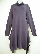 TRENDY LONG STRETCHY JUMPER / DRESS TOP IN 4 COLOURS SIZES M (14/16) L (18/20)