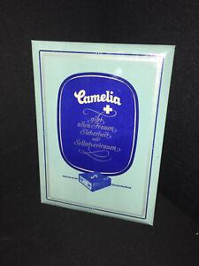 Camelia Imgoglas Scudo - 22 X 30,5 CM - Werbeschild - D Del 1950 Variante I