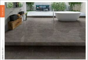 Porcelain Tiles STYLE 020 BROWN High Gloss Finish 600x1200