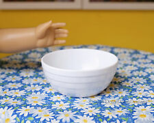 White SERVING BOWL for American Girl Doll House Kitchen Bakery Sweet Shop