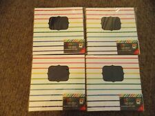 4 sets of 8 count 8x8 Make your own Books - New - 16 pages each!
