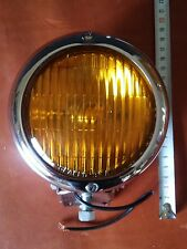 Headlight Light. motorcycles yellow faro for harley custom chopper scrambler