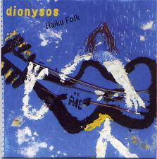 Dionysos - Haïku Folk CD promo