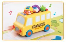 6PCS Pororo Toy Minibus Preschool Korean Animated TV Series Kid Character_NK