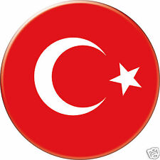 TURQUIE TURKEY DRAPEAU FLAG PAYS COUNTRY Ø25MM PIN BADGE BUTTON