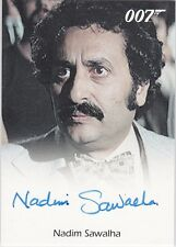 JAMES BOND 2014 ARCHIVES NADIM SAWALHA FEKKESH IN THE SPY WHO LOVED ME AUTOGRAPH