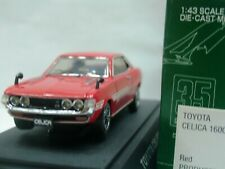 WOW EXTREMELY RARE Toyota 1972 Celica 1600 GT TA22 RHD Red 1:43 Ebbro-DISM