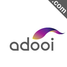 ADOOI.com 5 Letter Premium Short .Com Catchy Brandable Domain Name