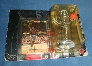 Michael Jordan Maximum Air Commemorative Series Silver Edition Figure and Card