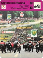 1978 Sportscaster Card Motorcycle Racing # The 1976  Continental Circus # 24-08.