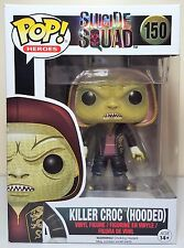 Funko Pop Killer Croc Hooded # 150 Suicide Squad Vinyl Figure Brand New