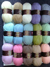 15 100g Stylecraft Special D/K Wool/Yarn Knitting/Crochet Cupcake Attic 24 Pack