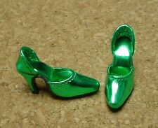 Doll Shoes, 42mm METALLIC DK GREEN Easy to Wear for Sybarite, MA Alex