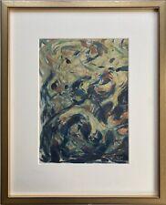 Karl Hennemann 1887 - 1972 Komposition 1961 Wildwasser Abstrakt Mecklenburg