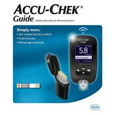 Accu Chek Guide Wireless Blood Glucose Meter Monitoring Kit