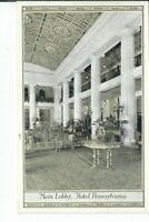CI-072 NY, New York City, Hotel Pennsylvania Lobby Divided Back Postcard