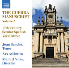Juan Hidalgo : The Guerra Manuscript: 17th Century Secular Spanish Vocal Music