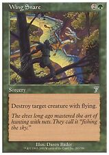 Wing Snare X4 EX/NM 7th Edition MTG Magic Cards Green Uncommon