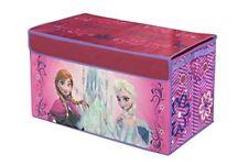 Disney Frozen Storage Trunk Collapsible Toy Box Kids Organizer Bedroom Anna Elsa