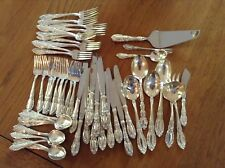 Sterling Silver, Towle, 12 place, 4 pieces, King Richard & 10 serving pieces