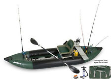 SEA EAGLE 350fx INFLATABLE EXPLORER KAYAK PRO MOTOR FISHING RIG MAKE BEST OFFER!