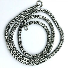 Trollbeads Necklace/Chain-no lock_925 sterling silver_Foxtail style