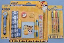 Pokemon Super Maxi Set de papeterie 24 accessoires Pokémon neuf sous emballage2