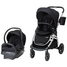 Maxi Cosi Adorra Travel System Night Black- Stroller & Mico MAX 30 Car Seat New