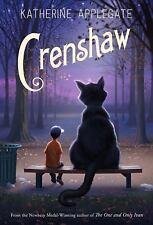 Crenshaw by Katherine Applegate Krenshaw Book Hardcover Hardback New Novel
