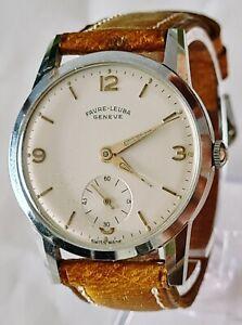 Vintage - Montre Favre Leuba Genève - Fonctionne tient l'heure. Calibre AS 156