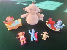 In The Night Garden Makka Pakka Chime Ball Push Along Toys & Figures Bundle