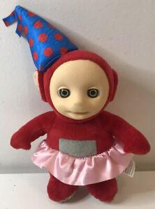 Party PO Teletubbies Teletubby Red Birthday Plush Soft Toy Talks Sound (2017)