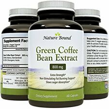 Highly Effective Green Coffee Bean Extract (CAPSULE FORM)