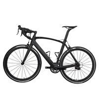 58cm AERO Carbon Road Bike Frame 700C Wheel Clincher Fork seatpost V brake