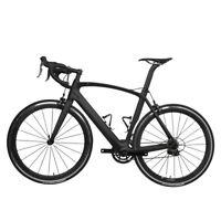 58cm AERO Carbon Bicycle Frame Road Shimano 700C Wheel Clincher seatpost V brake
