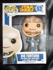 FUNKO Bib Fortuna POP Vinyl from Star Wars (New, but damage on box, see pics)