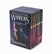 WARRIORS DAWN OF THE CLANS BOX SET - HUNTER, ERIN - NEW PAPERBACK BOOK