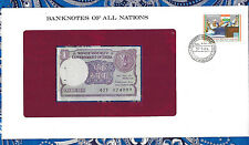 Banknotes of All Nations India 1 Rupee 1984 P78A/a Unc prefix 47F