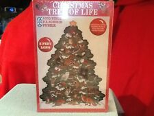 FX Schmid 1000 Pc Puzzle Christmas Tree of Life Shaped Puzzle NEW SEALED