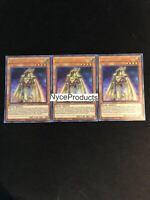 Yugioh! 3x Ra's Disciple BLAR-EN076 Ultra Rare 1st Edition Mint