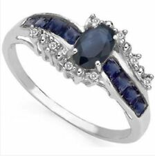 Mother's Day Diamond Sapphire Fine Rings